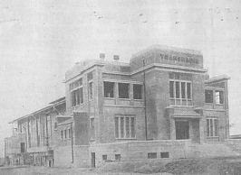 Transradio LPZ main building, 1924